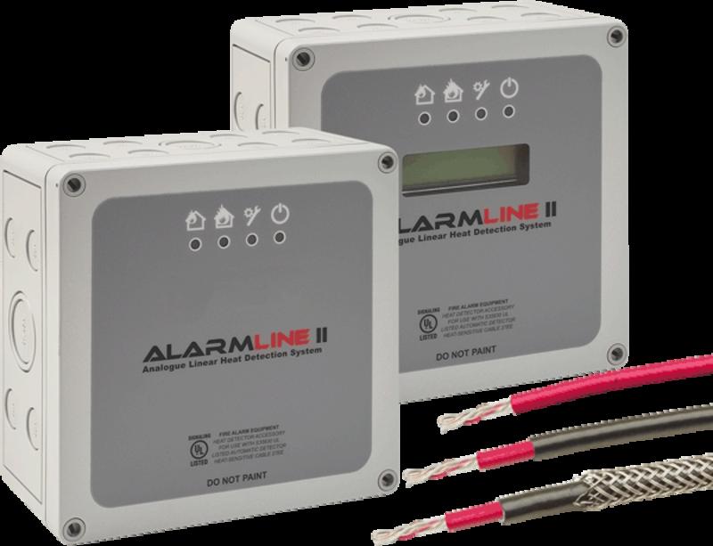 Linear Heat Detector Lwm Esser By Honeywell